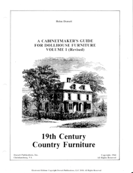Cabinetmaker's Guides - downloads