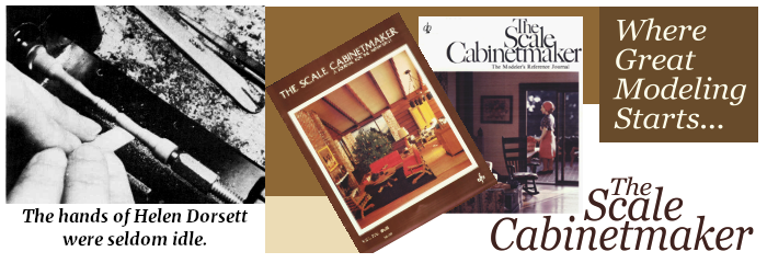The Scale Cabinetmaker & More